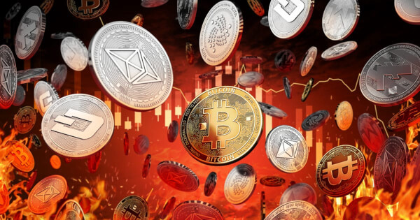 Cryptocurrency Market Opens The Week To Big Dip, What Coin Is The Biggest Loser Today?