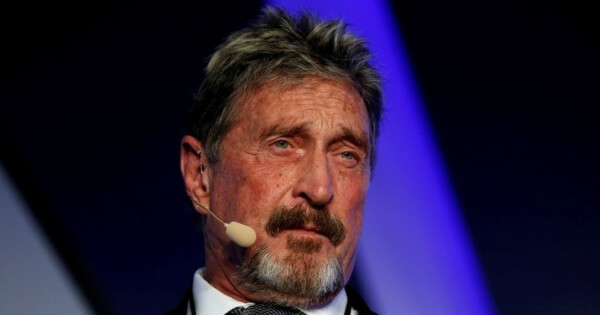 John McAfee Found Dead in Prison After Spanish High Court Approves His Extradition to the US