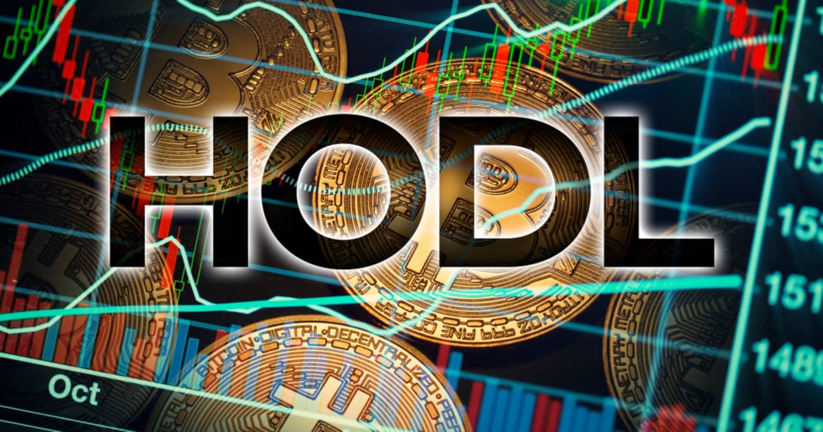 Hodling Bitcoin is the Trend Once Again, according to Santiment