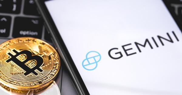 Bitcoin next to Gemini