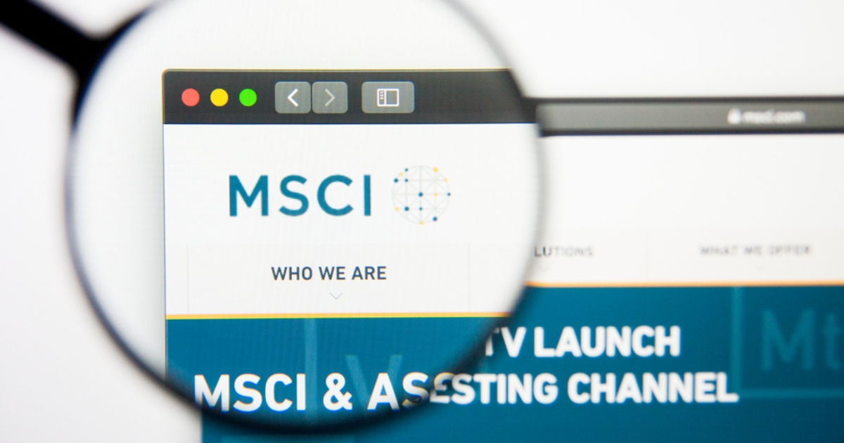 Global Financial Indexes Provider MSCI Plans to Launch Crypto Indexes