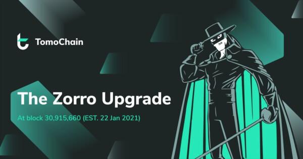 tomochain zorro upgrade ethereum