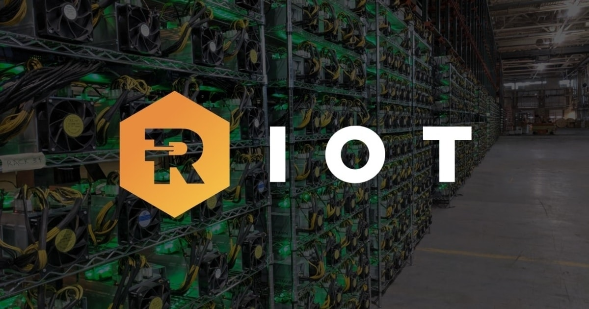 Riot Blockchain Yearly Bitcoin Production Increases by 236%, Accumulates $194M in BTC
