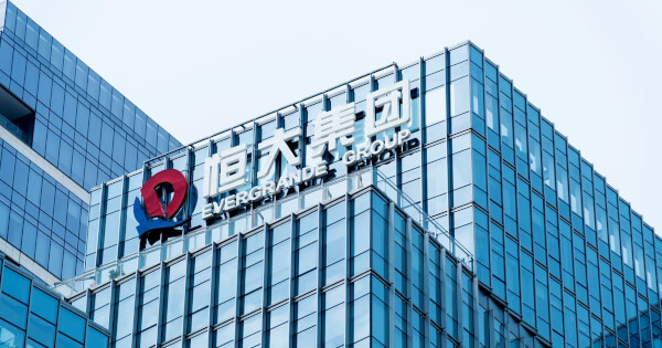 China Evergrande's Financial Crisis Triggered Monday's Sell-off, Crypto Prices Follow the Slump