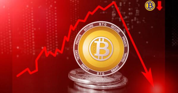 Bitcoin price slump