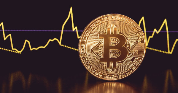 Bitcoin Mild Volatility Lower than the Other Leading Cryptocurrencies in 2021