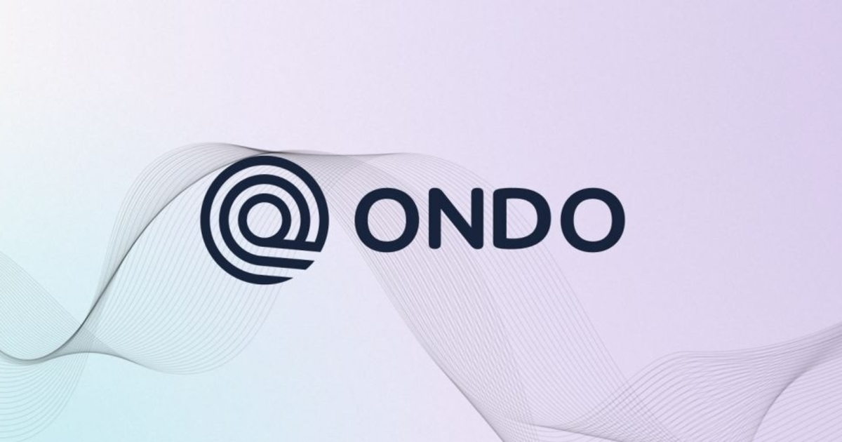 Former Goldman Sachs Staff Launch DeFi Platform Ondo with $4M Funding Round
