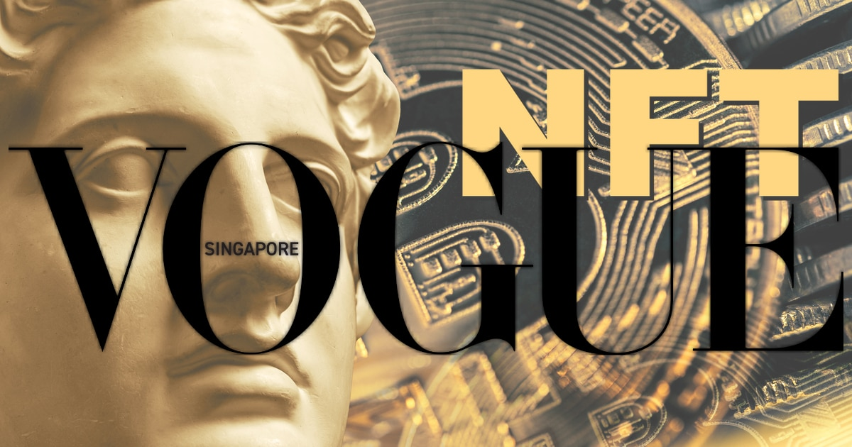 Vogue Singapore Ventures into the NFT Metaverse in September Issue