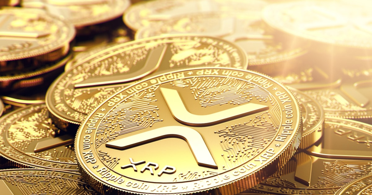 XRP gold coins