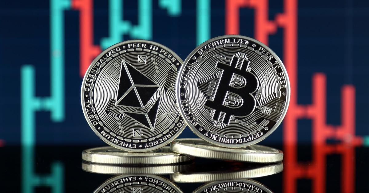 Ethereum (ETH) and Bitcoin (BTC)