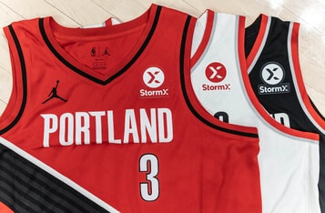 Portland Trail Blazers Pairs with StormX as the First NBA Crypto Jersey Patch Partner