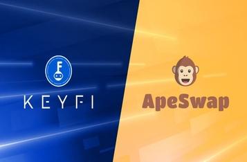 KeyFi Announces Native Token Listing on ApeSwap DEX